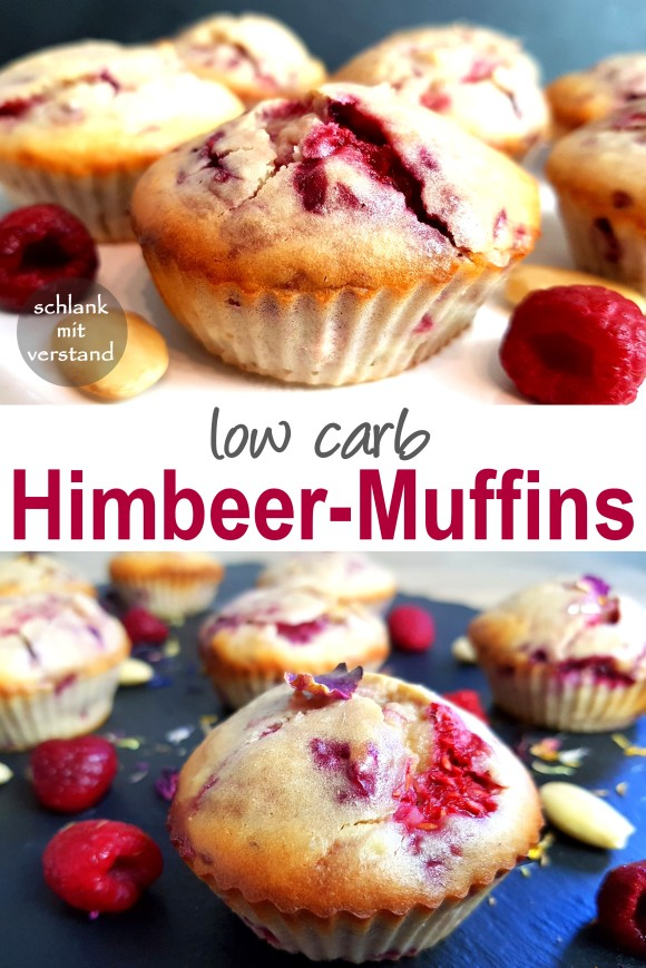 Himbeer-Muffins low carb