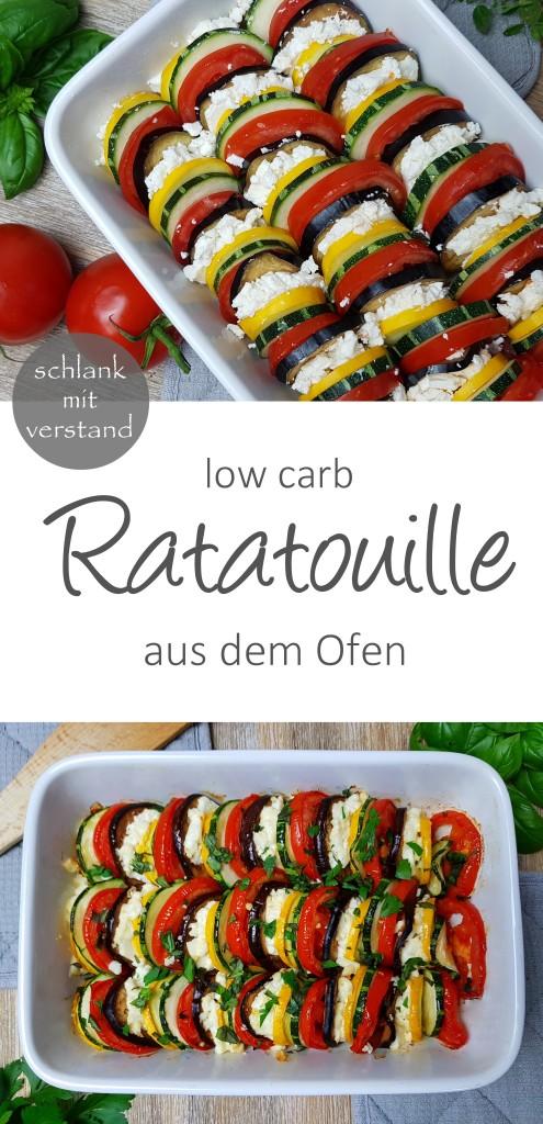 low carb Ratatouille Rezept