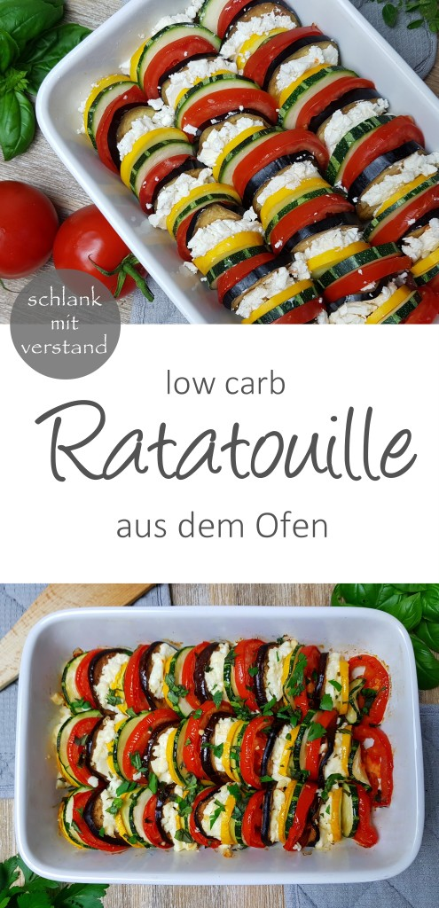 low carb Ratatouille Rezept