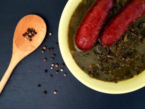 low carb Grünkohlsuppe Rezept schlankmitverstand