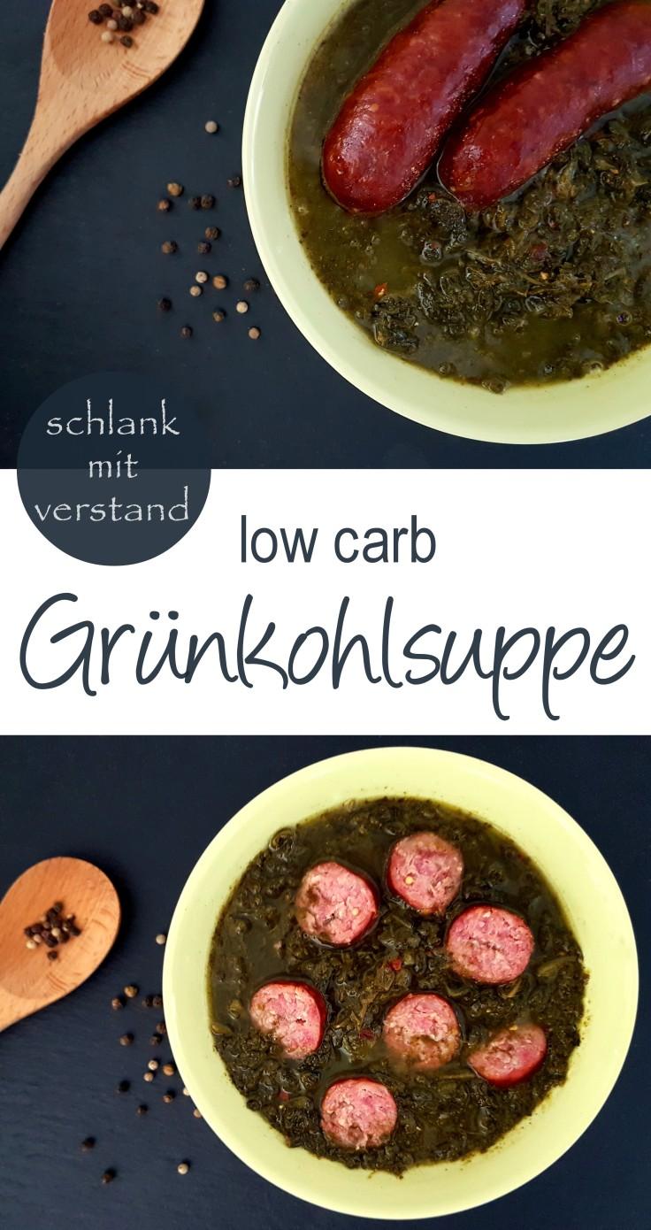 low carb Grünkohlsuppe Rezept