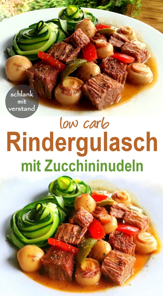 low carb Rindergulasch
