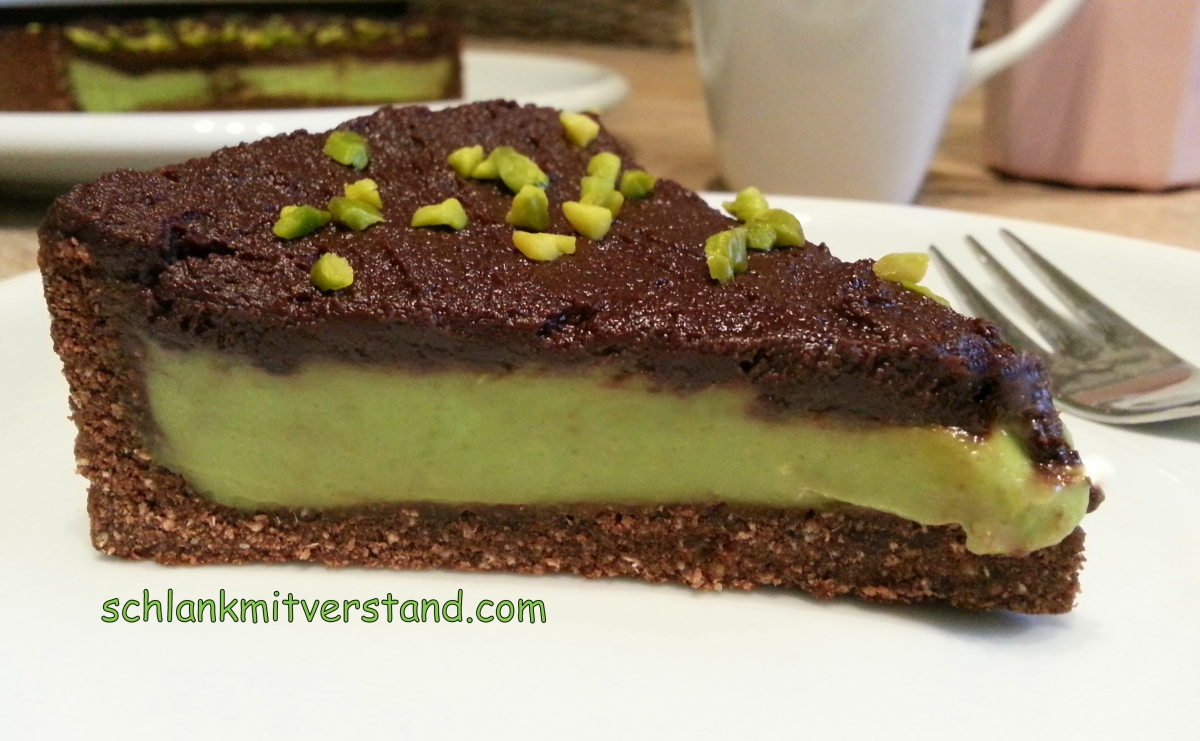 Schokoladen-Avocado-Kuchen low carb