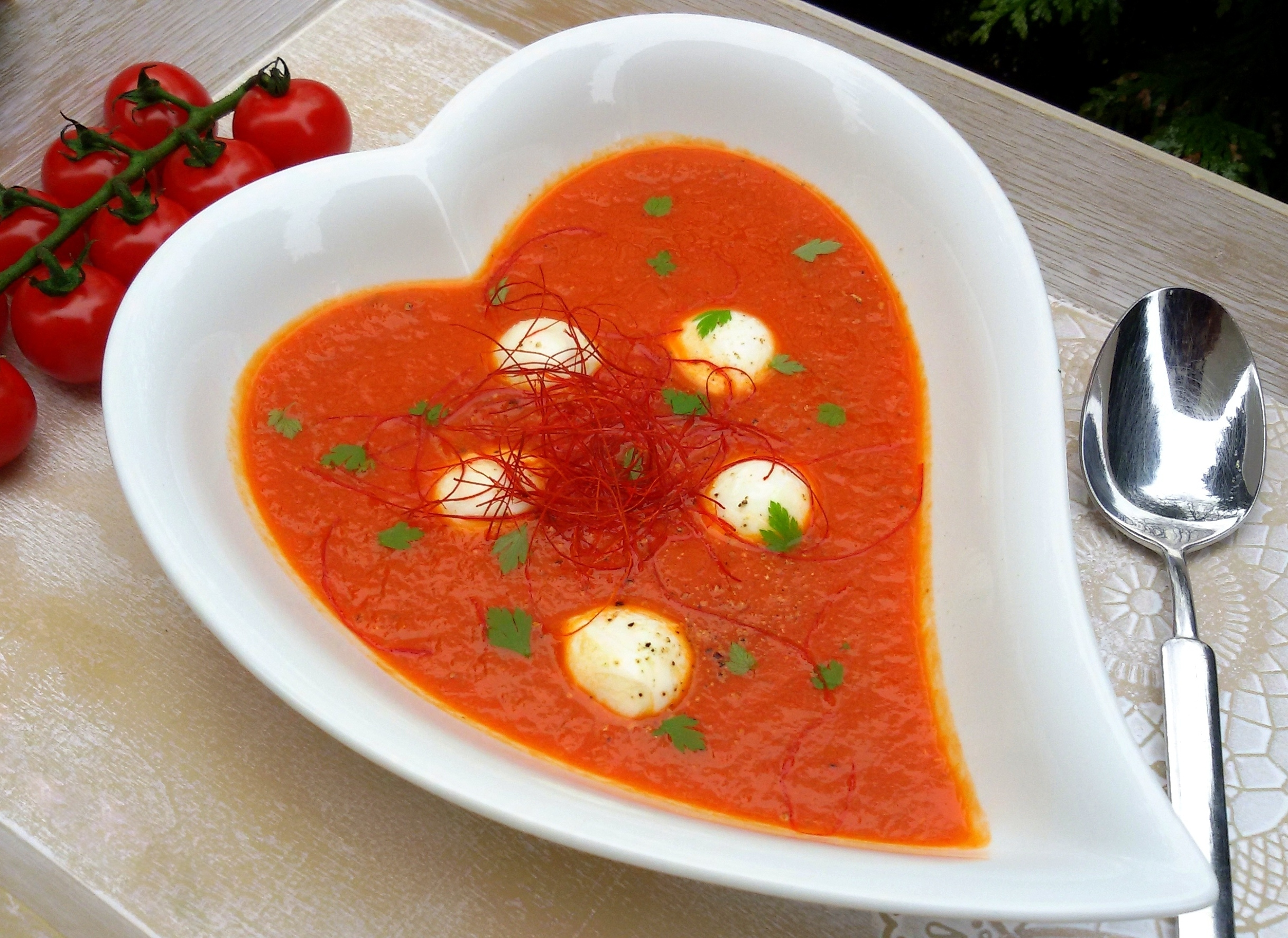 Tomatensuppe low carb Rezept
