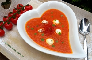 Tomatensuppe low carb1