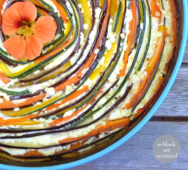 Gemüsequiche low carb