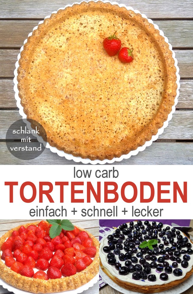 low carb Tortenboden Rezept