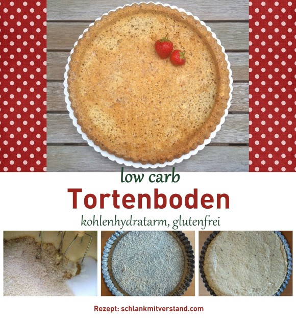 Tortenboden low carb Rezept