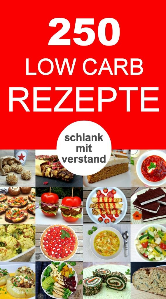 250 low carb Rezepte