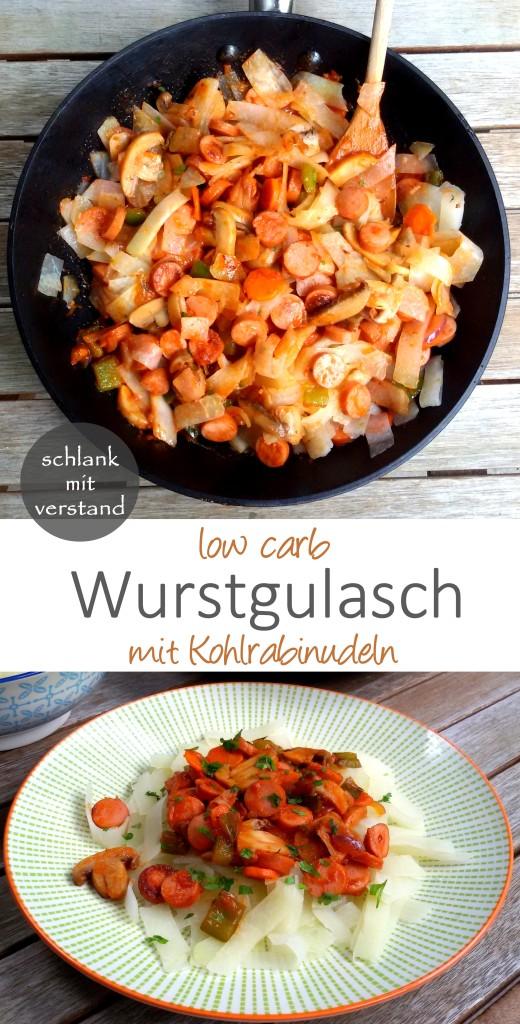 Wurstgulasch low carb