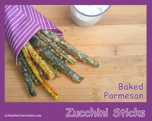 Zucchini Sticks low carb 2