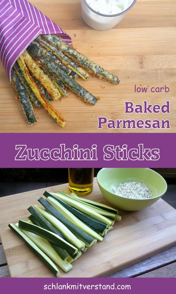 Zucchini Sticks low carb