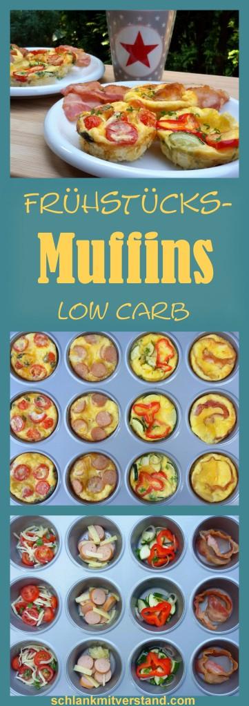 Frühstücksmuffins low carb Rezept