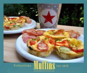 Frühstücksmuffins low carb