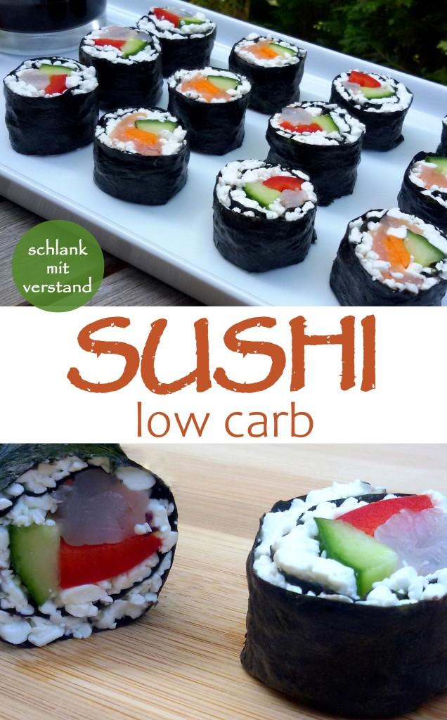Sushi low carb Rezept