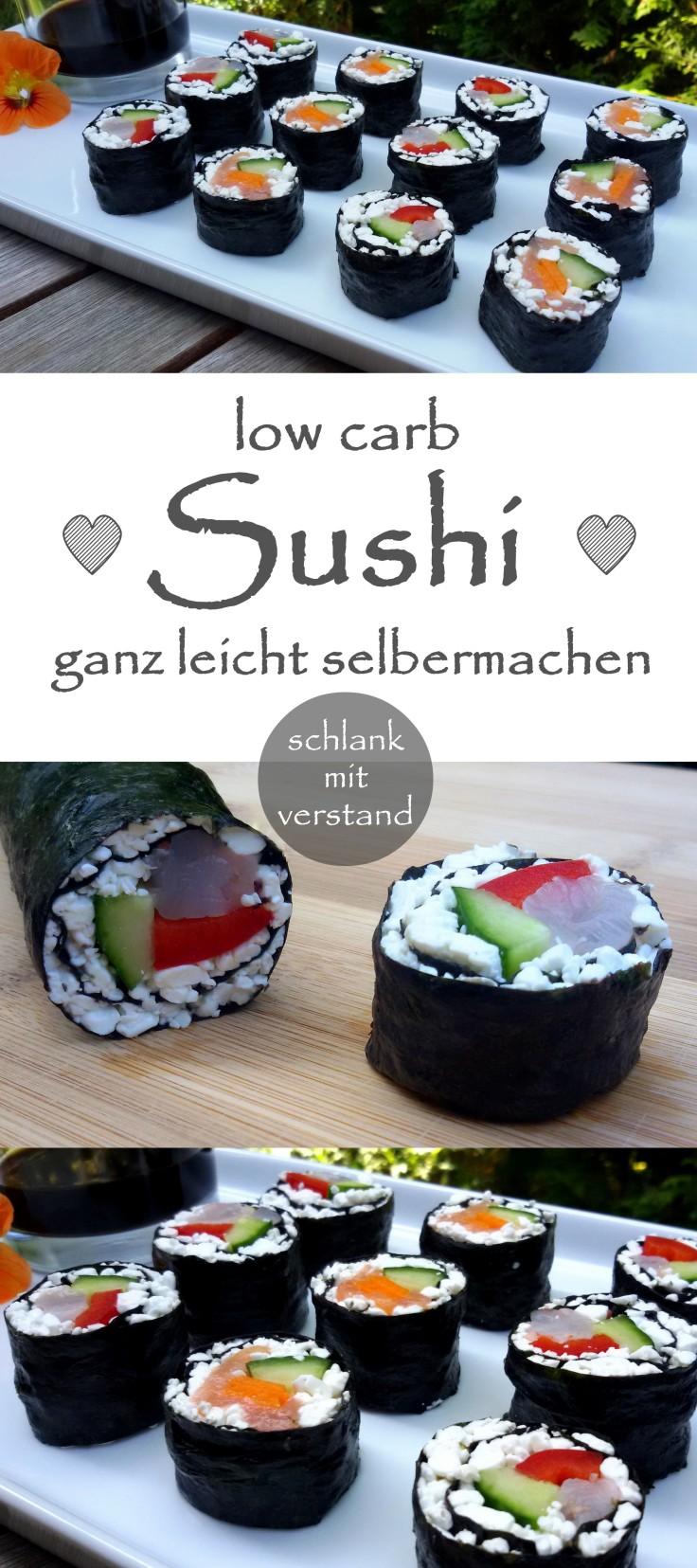 Sushi low carb selbermachen