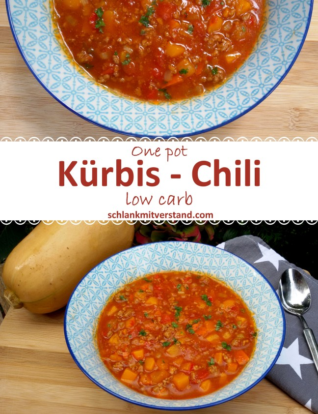 low carb Kürbis-Chili Rezept
