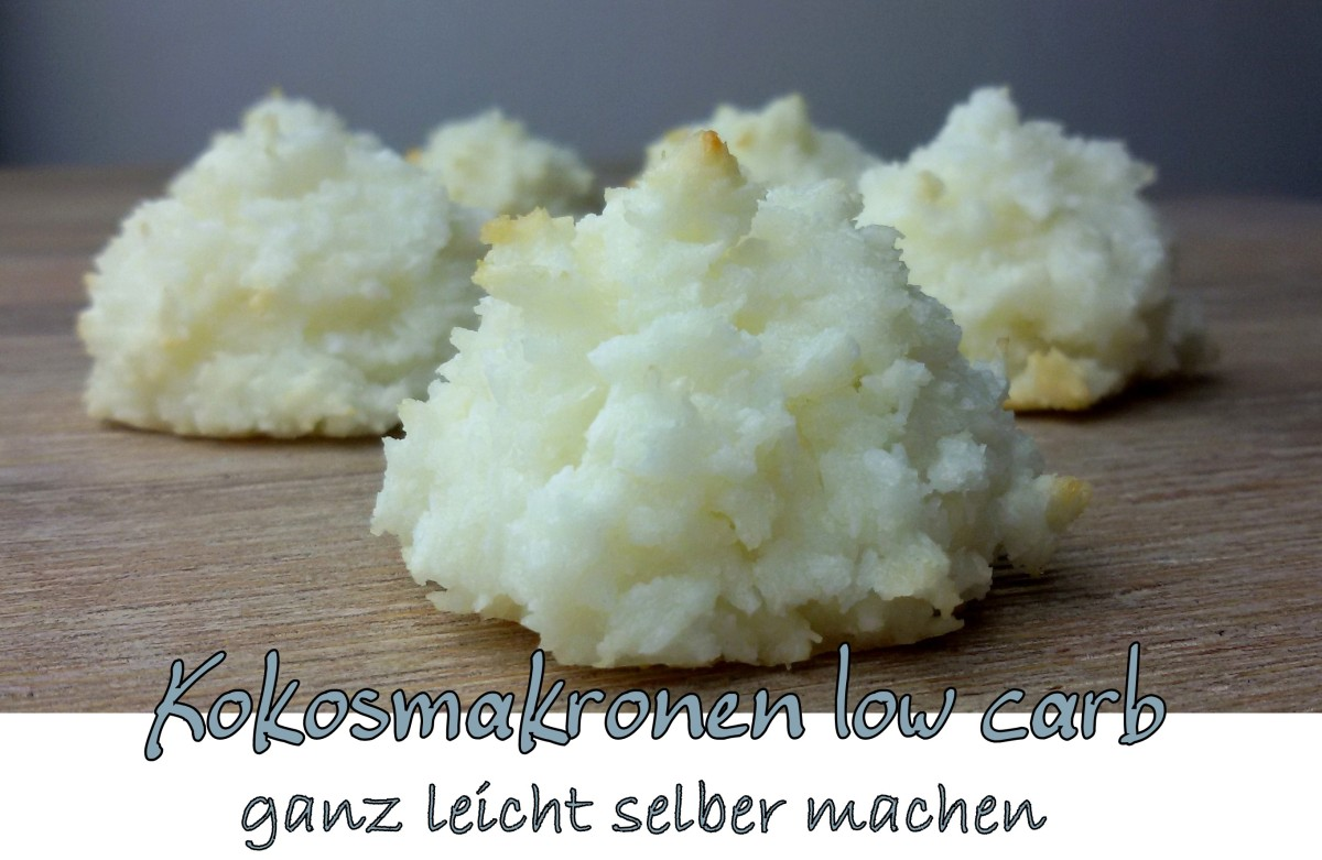 Kokosmakronen low carb