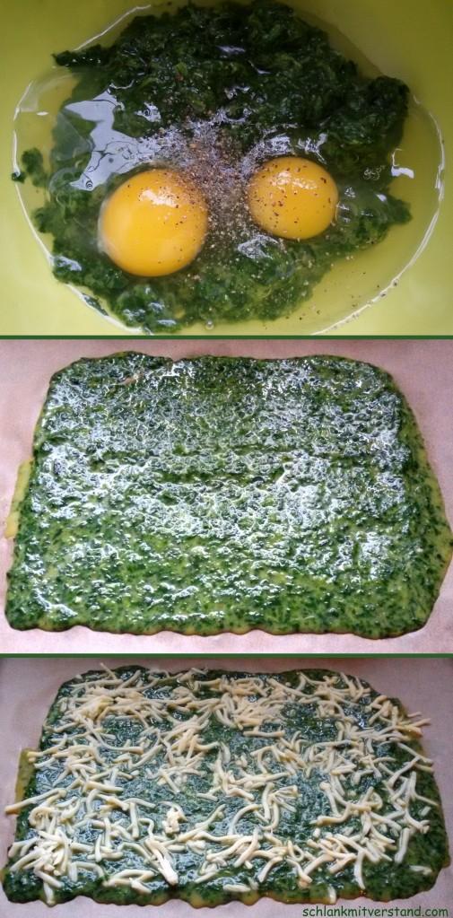 Spinat-Lachs-Rolle Rezept