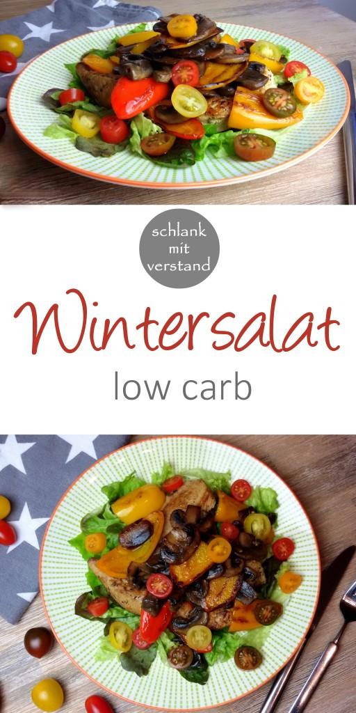low carb Wintersalat Rezept