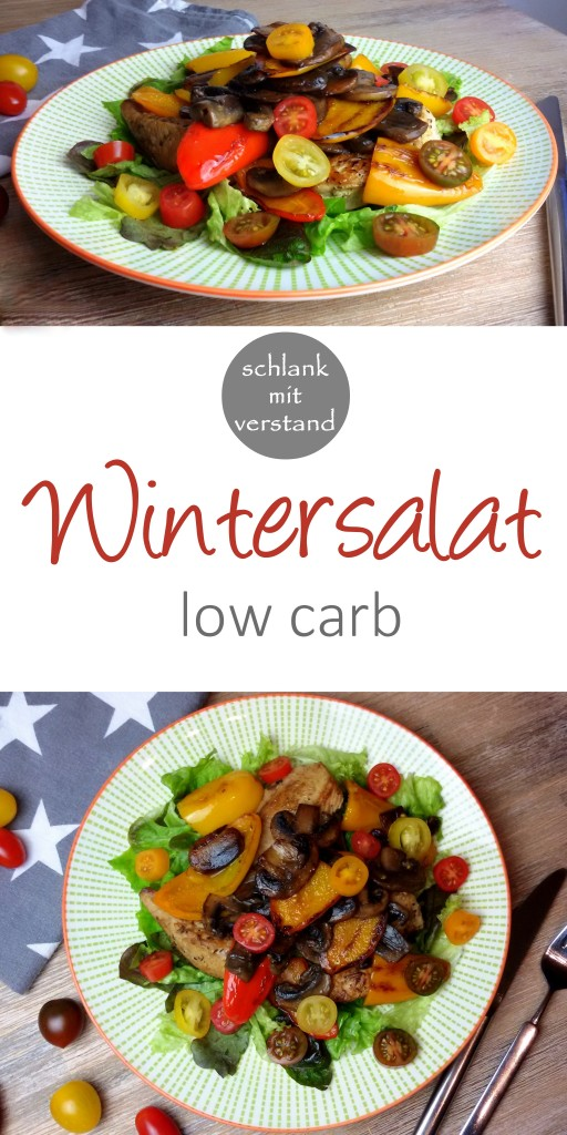 low carb Wintersalat Rezept
