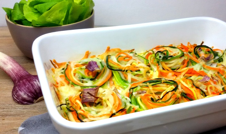 Gemüsenudel-Auflauf low carb