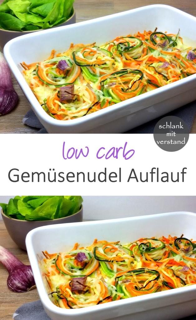 Gemüsenudelauflauf low carb