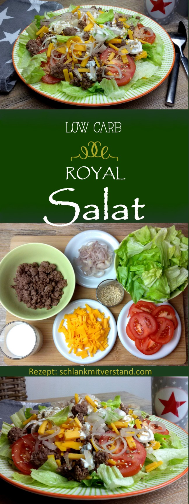 low carb Royal Salat