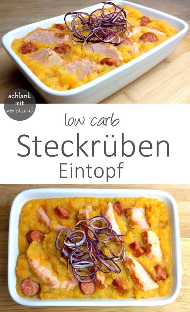 Steckrübeneintopf low carb