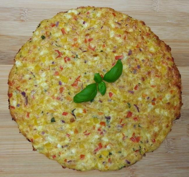 low carb Schüttel-Pizza Rezept