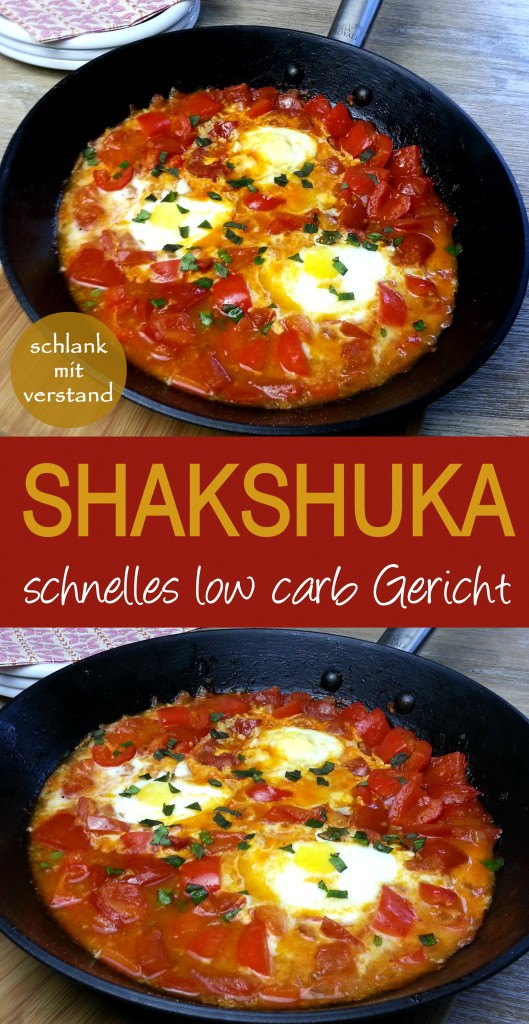 low carb Shakshuka Rezept