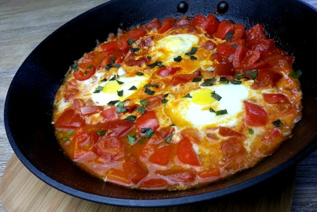 Shakshuka low carb Gericht