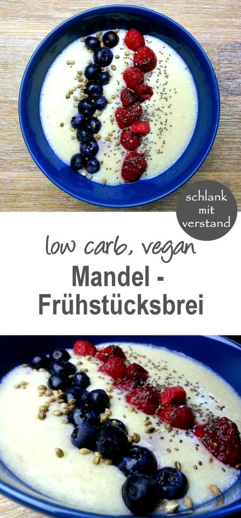 low carb Mandel-Frühstücksbrei
