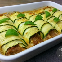 Zucchini Cannelloni low carb