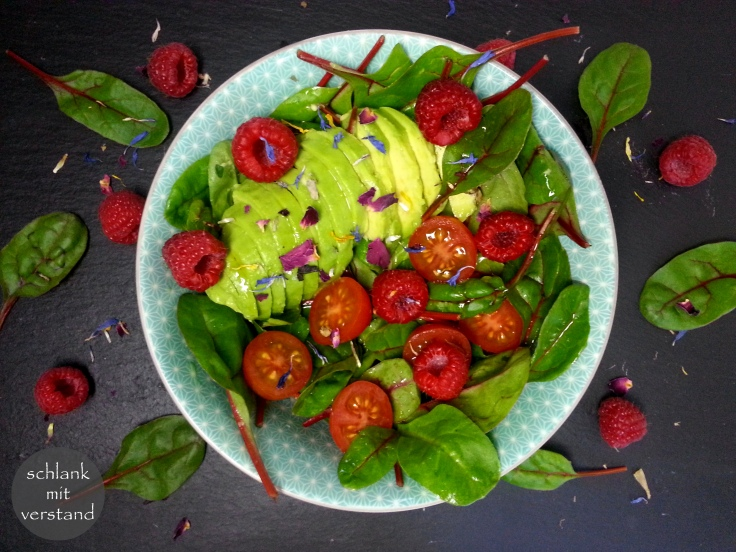 Avocado Himbeer Salat Rezept