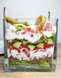 Schichtsalat greek style schlankmitverstand