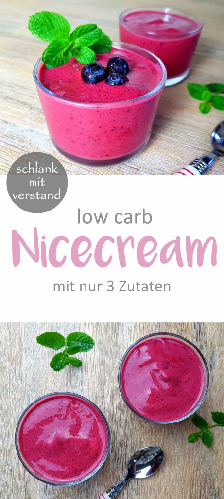 low carb Nicecream Rezept