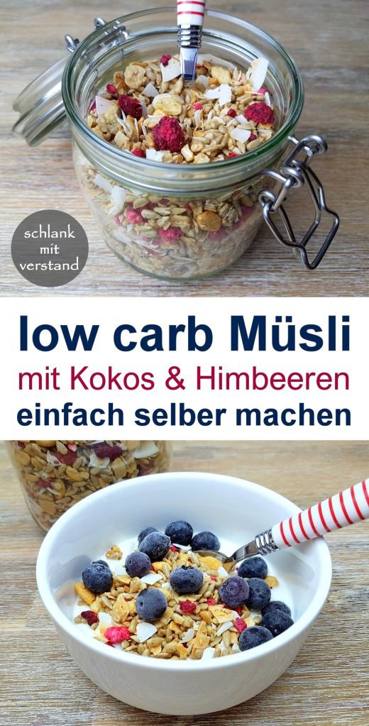 low carb Müsli selber machen Rezept