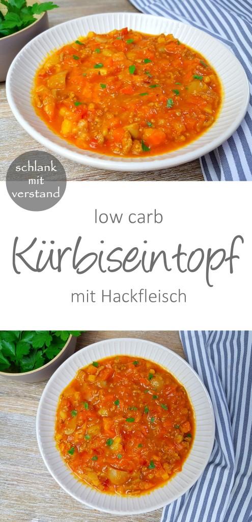 Kürbiseintopf low carb Rezept