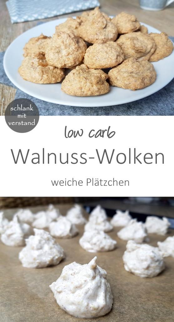 low carb Walnuss-Wolken