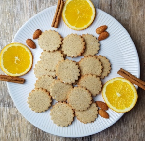 Orangenplätzchen low carb Rezept