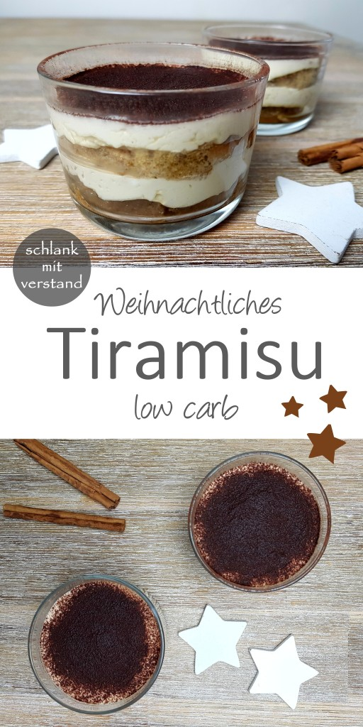 Weihnachtliches Tiramisu low carb
