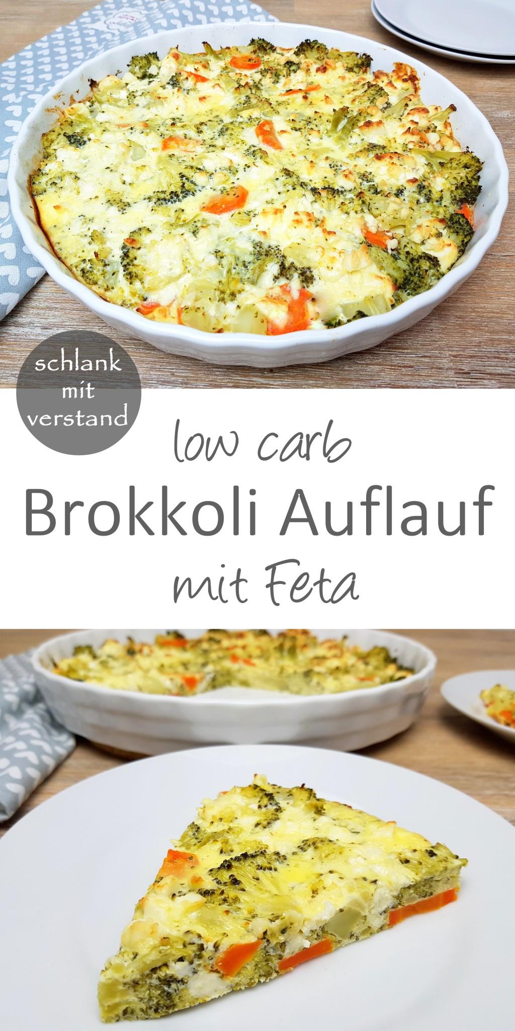 Brokkoli Auflauf low carb