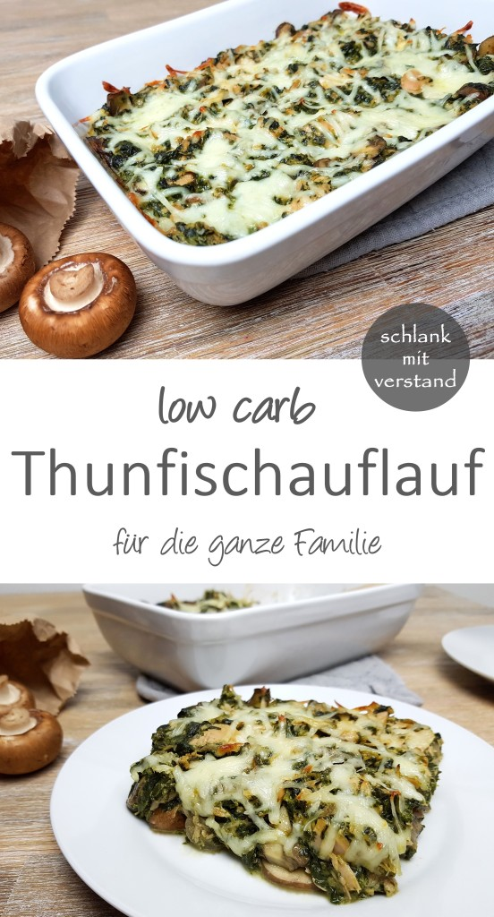 Thunfischauflauf low carb