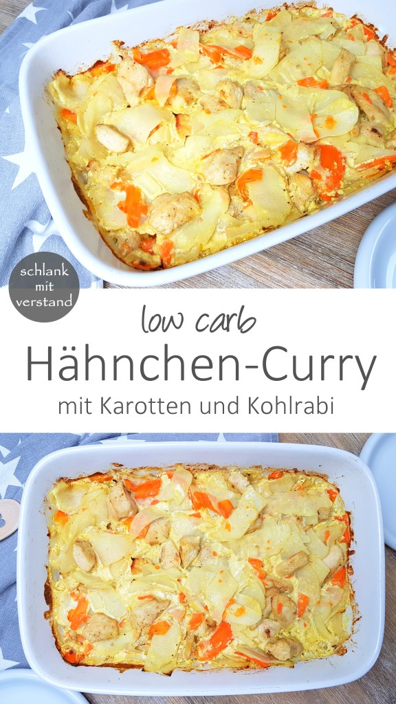 hähnchen-curry low carb