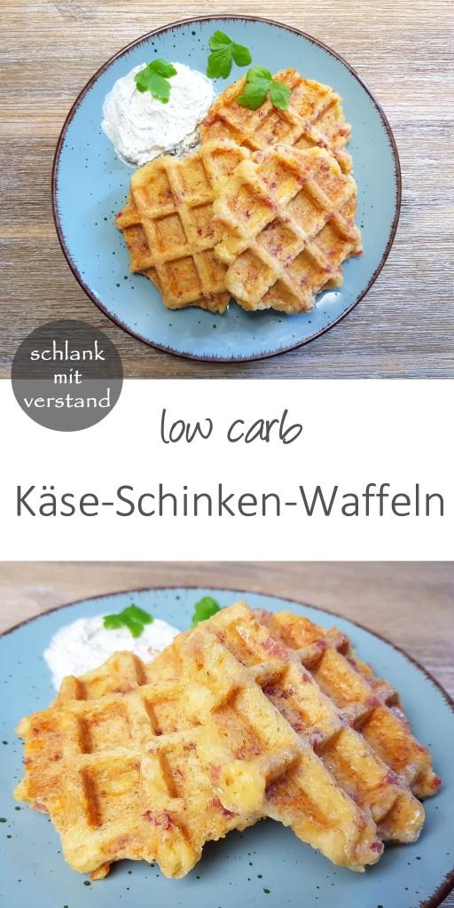 käse-schinken-waffeln low carb