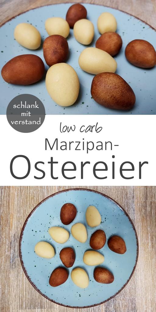 marzipan ostereier low carb rezept