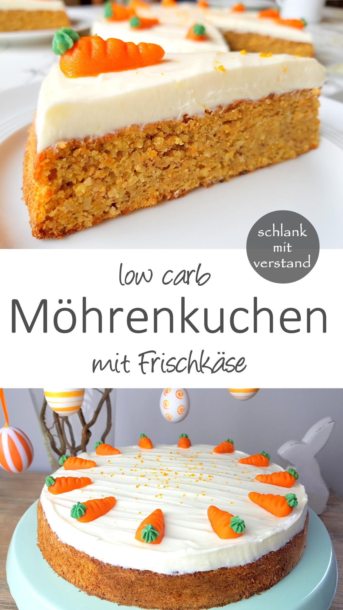 Möhrenkuchen low carb