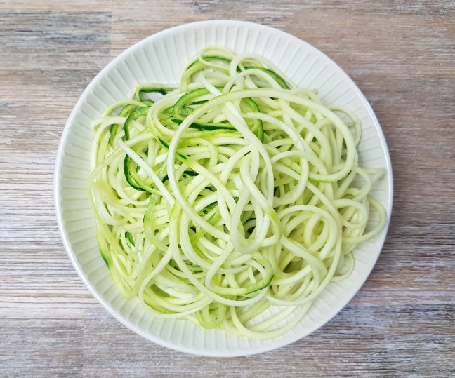 Zoodles low carb Zucchininudeln