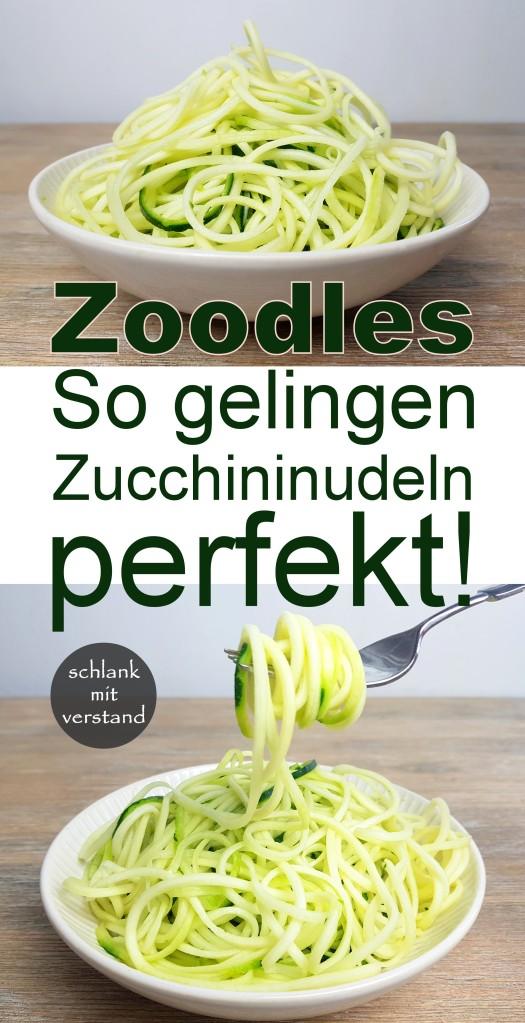 Zoodles - So gelingen Zucchhininudeln perfekt